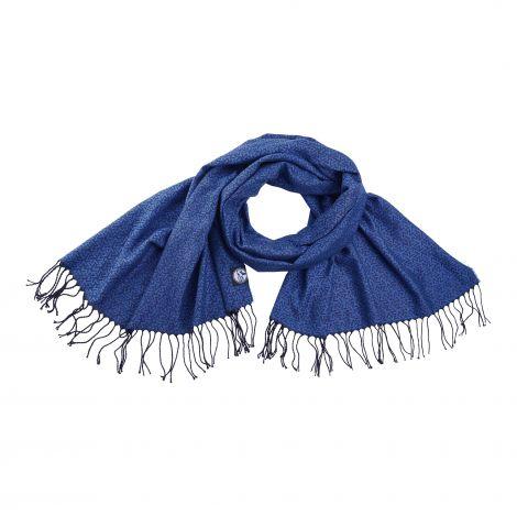Schal königsblau XL