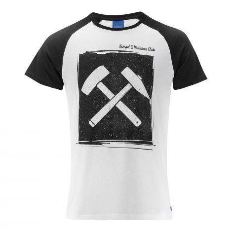 T-Shirt Kumpel & Malocher weiss