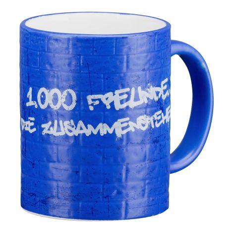 Kaffeebecher 1.000 Freunde