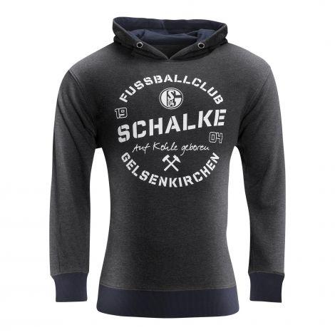 Kapuzen-Sweat Kids Schalke Auf Kohle geboren