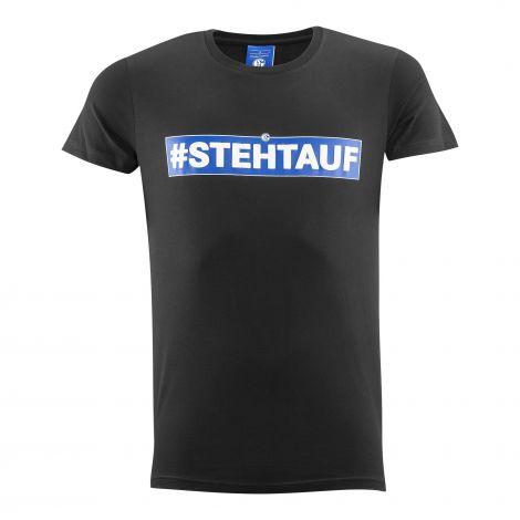 T-Shirt steht auf