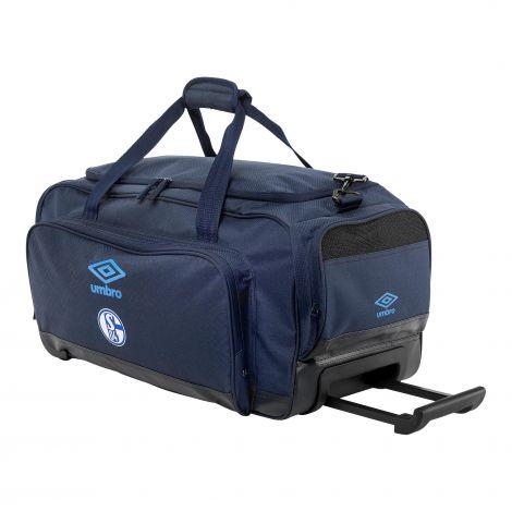 Teambag M navy mit Rollen