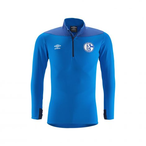 Trainingstop Zip Team Kids blau