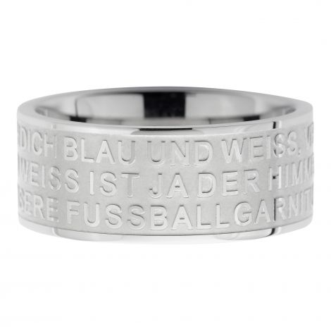 Ring Blau und Weiß 9mm