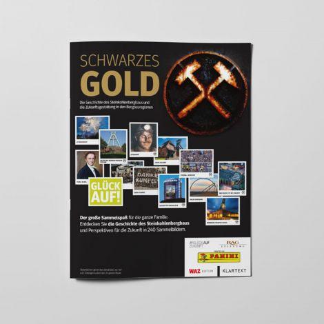 Sammelalbum schwarzes Gold