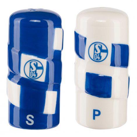 Salz- und Pfefferstreuer Schal
