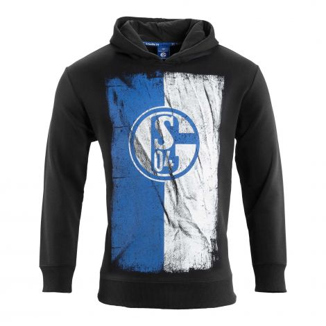 Kapuzen-Sweat Kids Flag schwarz