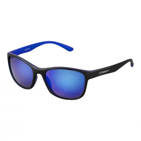 Sonnenbrille schwarz blau