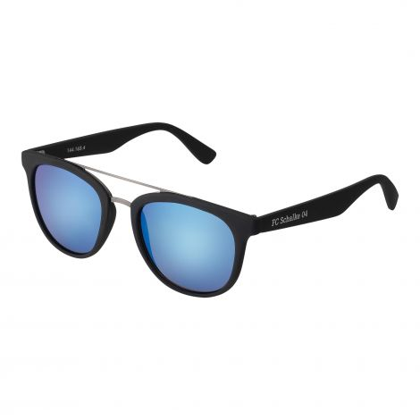 Sonnenbrille schwarz verspiegelt