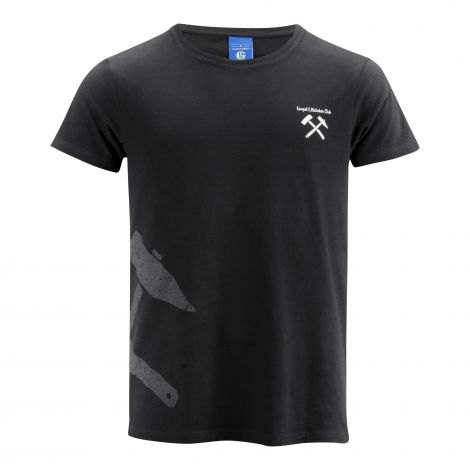 T-Shirt Kumpel & Malocher schwarz