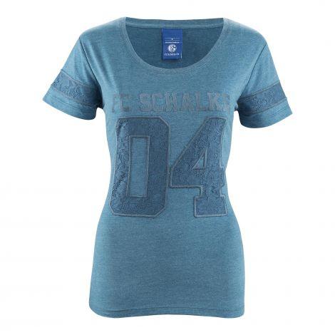 T-Shirt Damen 04 petrol