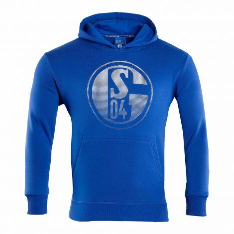 Kapuzen-Sweat Kids Signet königsblau