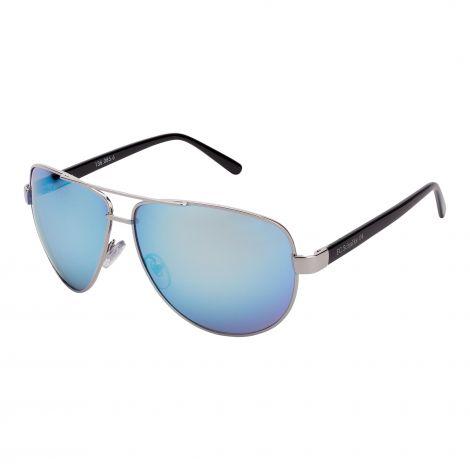 Sonnenbrille Pilot metallic blau
