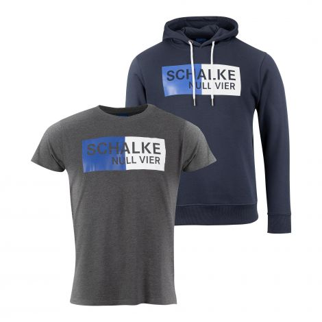 Doppelpack Kapuzen-Sweat & T-Shirt