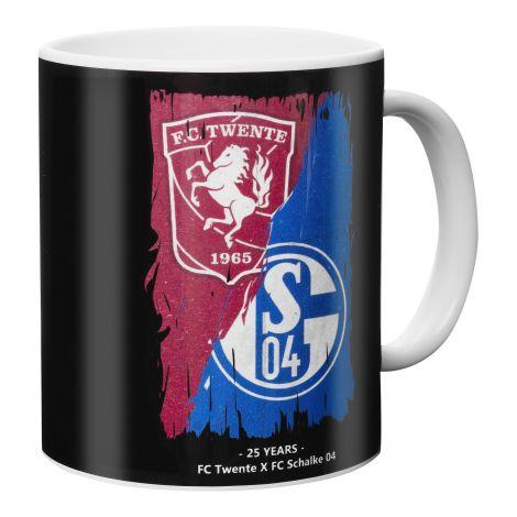 Kaffeebecher Twente x Schalke