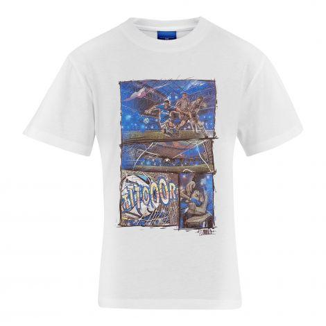 T-Shirt Kids Comic white