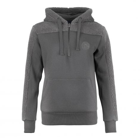 Kapuzen-Sweat Damen Sherpa