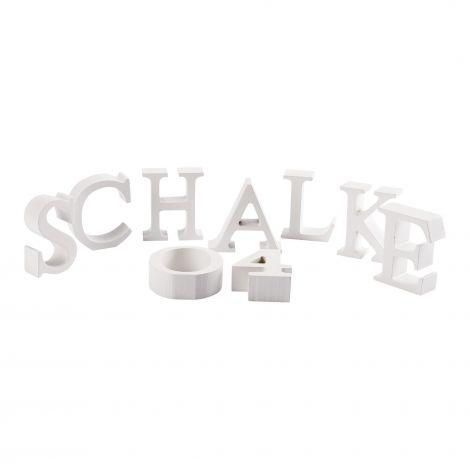 Buchstaben Schalke 04