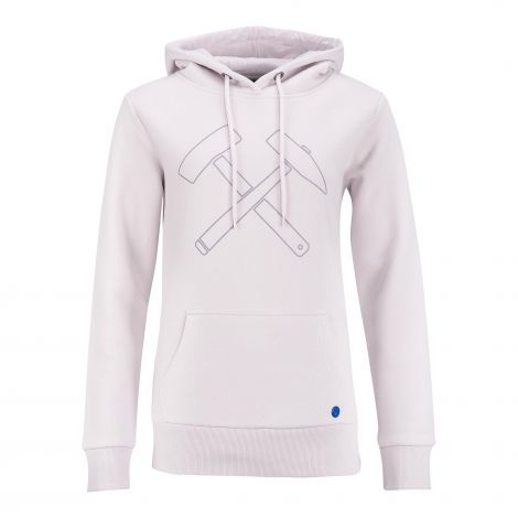 Kapuzen-Sweat Damen rosé
