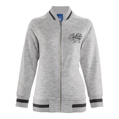 Sweat-Jacke Damen Auf Kohle geboren