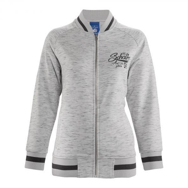 Sweat-Jacke Damen Auf Kohle